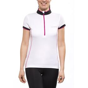 axant Elite Short Sleeve Jersey Women white/pink